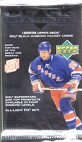 1998-99 Upper Deck Black Diamond Hockey Pack