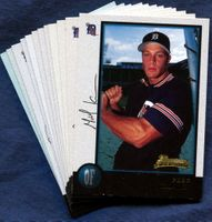 1998 Bowman Detroit Tigers Baseball Card Team Set