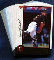 1998 Bowman Pittsburgh Pirates Baseball Card Team Set