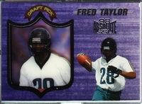 1998 Playoff Absolute Fred Taylor Rookie Card