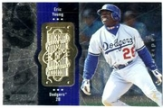 1998 SPx Finite Radiance Eric Young Baseball Card