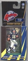 1998 Topps Action Flats Ryan Leaf Football Card And Figurine
