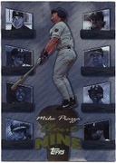 1998 Topps Clout Nine Mike Piazza Baseball Card