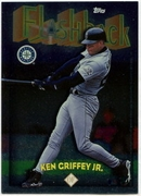 1998 Topps Flashback Ken Griffey Jr. Baseball Card