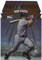 1998 Topps HallBound Mike Piazza Baseball Card