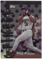 1998 Topps Mystery Finest Mike Piazza Baseball Card