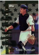 1998 Topps Mystery Finest Todd Hundley Baseball Card