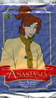 1998 Upper Deck Anastasia Non-Sports Card Pack