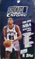 1999-2000 Stadium Club Chrome NBA Basketball Card Box