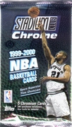 1999-2000 Stadium Club Chrome NBA Basketball Card Pack