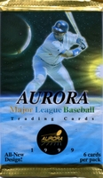 1999 Pacific Aurora Baseball Cards Pack