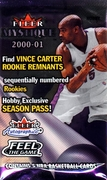 2000-2001 Fleer Mystique Basketball Cards Pack