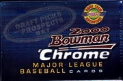2000 Bowman Chrome Draft Picks and Prospects Baseball Cards Set