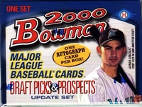 2000 Bowman Draft Picks & Prospects Update Baseball Card Set