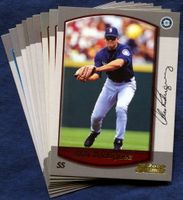 2000 Bowman Seattle Mariners Baseball Card Team Set