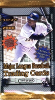 2000 Pacific Prism Baseball Card Pack