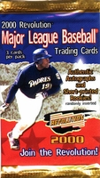 2000 Pacific Revolution Baseball Card Pack