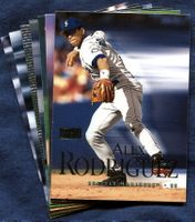 2000 SkyBox Seattle Mariners Baseball Cards Team Set