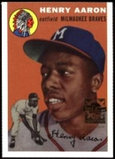 2000 Topps Limited Aaron Specials Hank Aaron 1954 Baseball Card