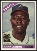 2000 Topps Limited Aaron Specials Hank Aaron 1966 Baseball Card