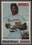 2000 Topps Limited Aaron Specials Hank Aaron 1970 Baseball Card