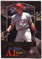 2000 Topps Limited All-Topps Ivan Rodriguez Baseball Card