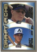 2000 Topps Limited Josh Hamilton & Corey Myers Draft Picks Baseball Card