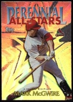 2000 Topps Limited Perennial All-Stars Mark McGwire Baseball Card