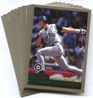 2000 Topps Limited Seattle Mariners Baseball Card Team Set
