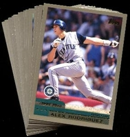 2000 Topps Seattle Mariners Baseball Card Team Set