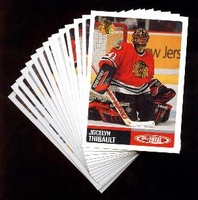 2002-2003 Topps Total NHL Chicago Blackhawks Hockey Card Team Set