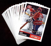 2002-2003 Topps Total NHL Montreal Canadiens Hockey Card Team Set