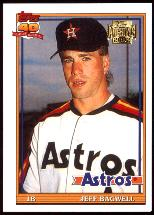 2002 Topps Archives Reprints Jeff Bagwell Baseball Card