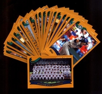 2002 Topps Seattle Mariners Baseball Card Team Set