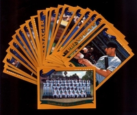 2002 Topps Tampa Bay Devil Rays Baseball Card Team Set