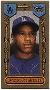 2003 Topps 205 Mini Brooklyn Back Edwin Jackson Baseball Card