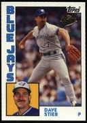 2003 Topps All-Time Fan Favorites Dave Stieb Baseball Card