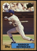 2003 Topps All-Time Fan Favorites Harold Reynolds Baseball Card