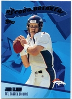 2003 Topps Record Breakers John Elway NFL Football Card