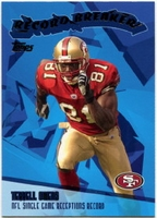 2003 Topps Record Breakers Terrell Owens NFL Football Card