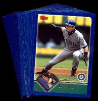 2003 Topps Seattle Mariners Baseball Cards MLB Team Set