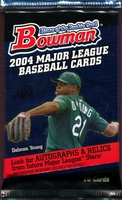 2004 Bowman Baseball Cards Hobby Pack