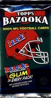 2004 Topps Bazooka NFL Football Cards Hobby Pack