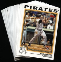 2004 Topps Pittsburgh Pirates Baseball Cards MLB Team Set