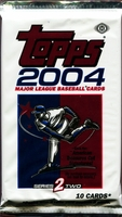 2004 Topps Series 2 Baseball Cards Hobby Pack