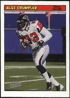 2005 Bazooka Alge Crumpler NFL Football Card