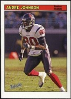 2005 Bazooka Andre Johnson NFL Football Card