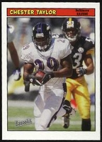 2005 Bazooka Chester Taylor NFL Football Card