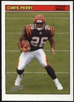 2005 Bazooka Chris Perry NFL Football Card