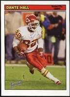 2005 Bazooka Dante Hall NFL Football Card